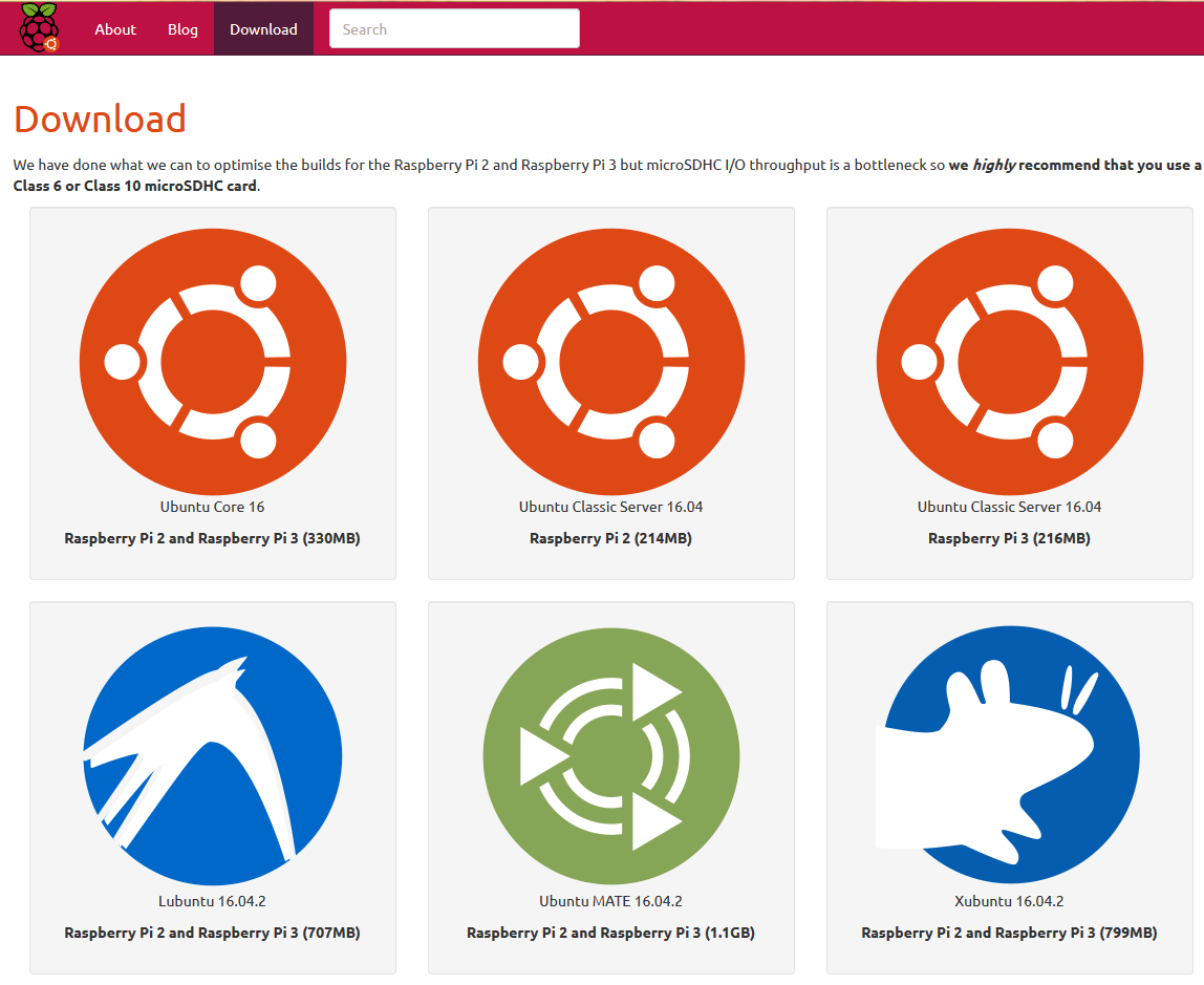 install ubuntu 16.04 on raspberry pi 3 b+